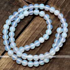 "Charms Loose Beads Fit Bracelet Necklace 14.5""L Opalite 8mm Gemstone Chip Strand"