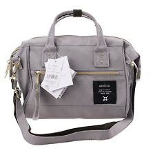 Grey Anello (Small) Japan Women Shoulder Top-Handle Cross Body Satchels Bag