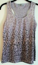 Cotton Blend Animal Print Sleeve Tops & Blouses for Women