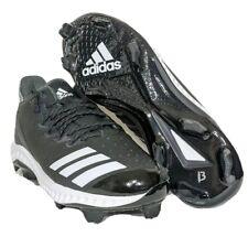 Men's Adidas Icon Bounce TPU Molded Baseball Cleat Black/White SZ 8.5 AQ0154