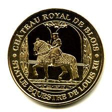 41 BLOIS Statue équestre de Louis XII, 2007, Monnaie de Paris