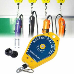 Einziehbar Federzug Balancer 3-5 kg Drahtseil Spring Fließband Werkzeug CN