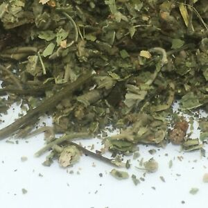 Mugwort & Marshmallow Leaf 50g ORGANIC Althea loose Herb Infusion Tea Smoking