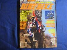 DIRT BIKE magazine- AUG 1991-HUSABERG MC501--ISDE-BIKES OF 4 STROKE NATS-VINTAGE