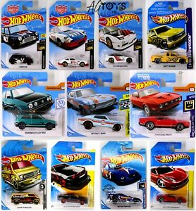 Hot Wheels New Carded Various Models 1:64 Scale Die-cast Toys CHOOSE YOUR MODEL