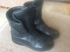 Mens Black Leather ALTBERG Defender Military MOD Boots UK 6 Punk Motorcycle Para
