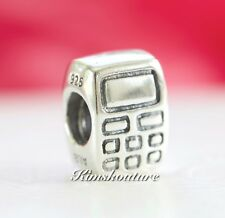 Authentic Pandora Retired Sterling Silver Cell Phone Charm 790293
