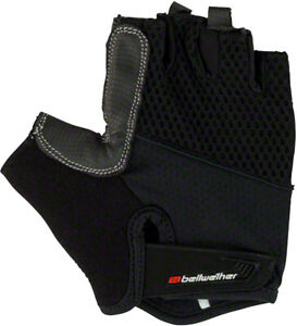 Bellwether Gel Supreme Gloves - Black, Short Finger, Men's, 2X-Large