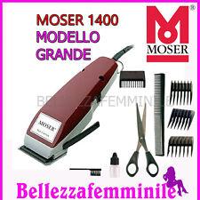 Tagliacapelli TOSATRICE MOSER 1400 Professionale Made In Germany Garanzia 3 Anni