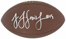 Steelers JuJu Smith-Schuster Signed Wilson Super Grip Nfl Football BAS Witnessed