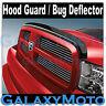 Smoke Black Hood Shield Guard Bug Deflector for 10-16 Dodge RAM 2500+3500+HD