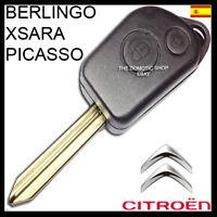 LLAVE CITROEN BERLINGO - XSARA PICASSO FUNDA CARCASA MANDO OFERTA CASE KEY ✅