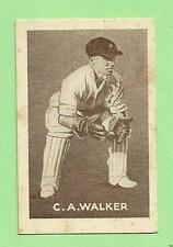1937  GRIFFITHS  SWEETS CRICKET CARD - C. A. WALKER