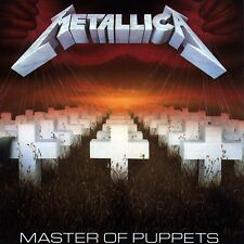 METALLICA CD - MASTER OF PUPPETS (2013) - NEW UNOPENED - BLACKENED RECORDS