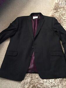 Daniel Hechter Dark Grey XXL suit Jacket And Trouser 42inch Waist