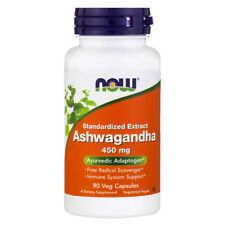 NOW FOODS Ashwagandha 450 mg - 90 Capsule - estratto