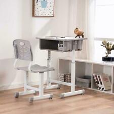 High School Student Desk and Chair Set Adjustable Child Study Furniture Storage