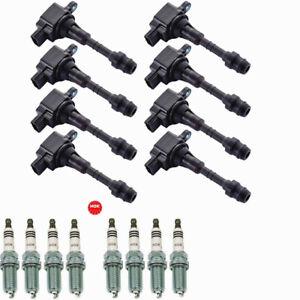 Set of 8 Ignition Coils Pack for Infiniti Q45 M45 FX45 2002-2008 V8 4.5L UF-482