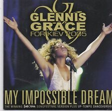 Glennis Grace-My Impossible Dream cd single Eurovision Songfestival