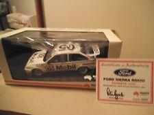 Biante 1:18 BROCK BATHURST 1989 FORD SIERRA RS500 HAND SIGNED COA
