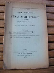 G. de Mortillet : Les Mottes cours de palethnologie 1895