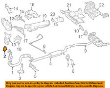 MERCEDES OEM 14-16 CLA250 2.0L-L4 Exhaust-Catalytic Converter Gasket 2711420780