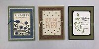 Cards Handmade Handcrafted Stamped w/envelopes Birthday Thank You Sympathy