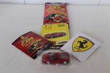 Micro Cars 2015 FERRARI Cards + stickers + libretto Numero 12 FERRARI 458