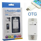 64GB iFlash Device Dual USB OTG Memory Stick Flash Drive For Apple iPhone iOS