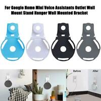 Outlet Wall Mount Holder Hanger Stand Grip For Google Home Mini Voice Assistants