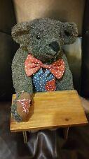 "Theadore B. Bear 12"" Bear Lmt 766/5000 House of Nisbet Merrythought England"
