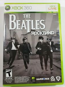 Complete with manual - Beatles: Rock Band - Xbox 360 - CIB - Fast Shipping