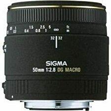 SIGMA single focus macro lens MACRO 50mm F2.8 EX DG for Nikon full size Japan