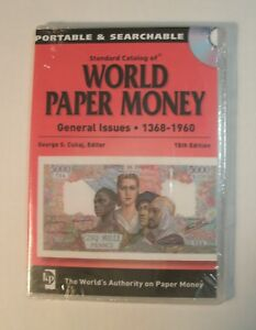 NEW! Standard Catalog of World Paper Money, General Issues, 1368-1960 [CD]