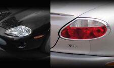 Jaguar XK8 & XKR Chrome Headlight & Tail Light Trim PKG 1997 1998 1999 2000