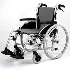 Roma Orbit 1300 lightweight folding self propel deluxe wheelchair ex demo
