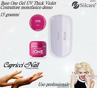 Gel Thick Violet SILCARE 15g Costruttore Monofasico Denso - Ricostruzione unghie