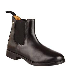 SUEDWIND Stiefel Jodhpur Classic - schwarz Schuhe Leder Stiefelette Reiten Pferd