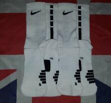 Nike Elite Team Crew Basketball Socks - 2 Pairs   Size M UK 5-8