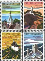 Schweiz 1354yb-1357yb (kompl.Ausgabe) postfrisch 1987 Tourismus