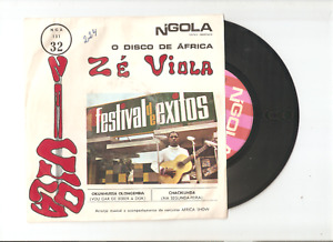 ZE VIOLA & AFRICA SHOW 7/45 Angola AFRO GROOVE FUNK BEAT Amalia Cover NGOLA