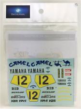 1/12 Yamaha YZR500 Camel Japan WGP '89 K. Ohishi Decal for Hasegawa