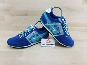 Kangaroos Pocketpass Jogger Navy Blue Shoes Sneakers 164229 - Women's Size 9
