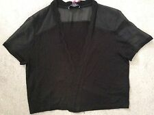 Viscose Short Sleeve Thin Waist Length Women's Jumpers & Cardigans