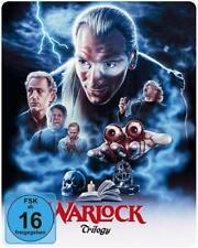Warlock - Trilogy (UNCUT, Trilogie) STEELBOOK 3x Blu-ray Disc NEU + OVP!