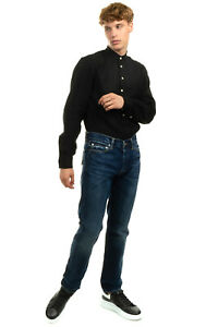 RRP €130 EDWIN Jeans W30 L32 Distressed Faded Button Fly Tapered Leg Relaxed Fit