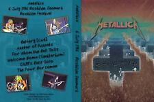 Metallica - Roskilde Festival (1986, DVD) LIVE Cliff Burton James Hetfield