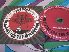 INSOFAR - Medicine For The Melancholic CD card sleeve
