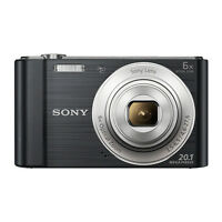 Sony Cyber-shot DSC-W810 20.1MP Digital Camera 6x Optical Zoom Black