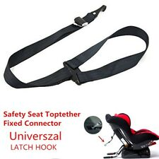 LATCH Car Baby Safety Seat Toptether Fixed Connector Strap Belt Interface Hook
